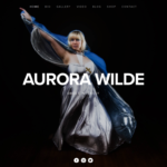 aurora_wilde_art_marketing_website