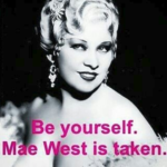Wilde by Wilde Instagram - Mae West (2)